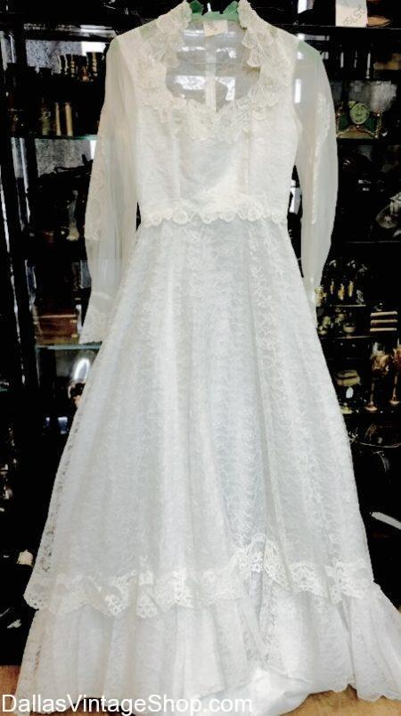 Used Wedding Dresses, Thrifted Wedding Dresses, Vintage Wedding Dresses, Affordable Wedding Dresses, Preowned Wedding Dresses, Economy Wedding Dresses at Dallas Vintage Shop