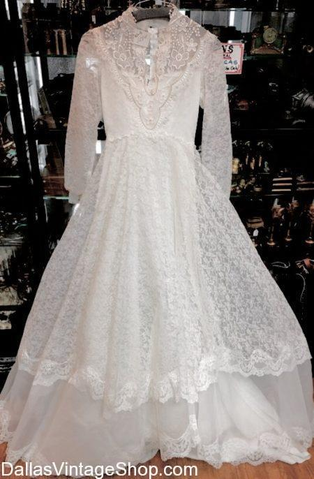 Used Wedding Dresses, Thrifted Wedding Dresses, Vintage Wedding Dresses, Thrift Store Wedding Dresses, Affordable Wedding Dresses, Preowned Wedding Dresses, Economy Wedding Dresses at Dallas Vintage Shop