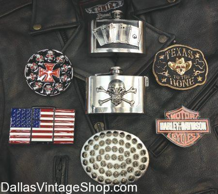We are Belt Buckles Dallas! We have the Best Bikers Belt Buckles & Gear in the Metroplex. Get Buckles Dallas, Dallas Belt Buckle Shop, Large Selection Belt Buckles, Metroplex Belt Buckle Shop, Best Shop Biker Buckles Dallas, DFW Buckle Shops, North Texas Belt Buckles, Quality Biker Belt Buckles, Skull & Crossbone Buckles, Whiskey Flask Belt Buckle, Harley Davidson Belt Buckles, Goth Belt Buckles, American Flag Buckles, Eagle Belt Buckles, Patriotic Belt Buckles, Cigarette Lighter Belt Buckles, Texas Belt Buckles, Pirate Belt Buckles, Unique Belt Buckles, Amazing Belt Buckles, Vintage Belt Buckle Shop, Vintage Belt Buckles and Accessories.