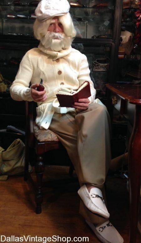 Huge supply100th Day of School Costumes for students and teachers. This 100 year old school teacher outfit is only one costume idea. Other 100th Day of School Costumes include Old People Hats, Old People Sweaters, Old Man Beards & wigs, Glasses and Slippers.