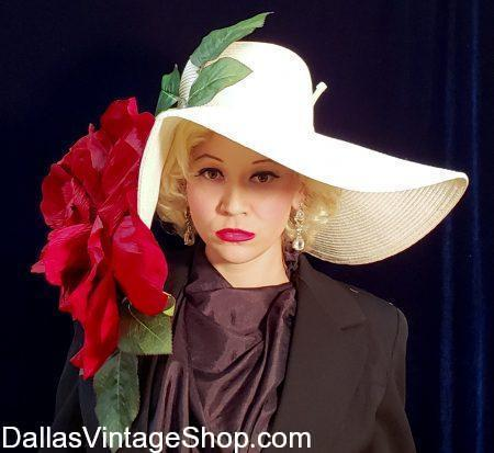 Dallas Vintage Shop has Marilyn Monroe Hat Sitting Hats, Marilyn Monroe Fashions, Marilyn Monroe Costumes, Hollywood Stars Costumes, Hollywood Starlet Hats & Fashions.