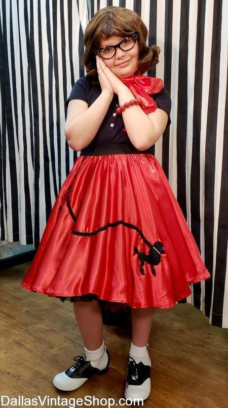 This Huge Collection of Child Size Poodle Skirts includes 50's Poodle Skirts, Kids Size Poodle Skirt Pettycoats, Poodle Skirt Cat Eye Glasses and other accessories. We also have Child Size Poodle Skirts, Buy Child Size Poodle Skirts, Quality Child Size Poodle Skirts, Poodle Skirt Sock Hop attire, Poodle Skirt Petticoats, Poodle Skirt Costume Ideas, Poodle Skirt, Accessories Poodle Skirt Child Costumes, Red Poodle Skirts, Poodle Skirt Blouses and Poodle Skirt Sweaters in stock.