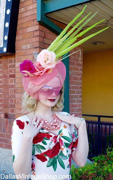 Best Kentucky Derby Hats, Kentucky Derby Whimsies, Kentucky Derby Fascinators and Oversized Kentucky Derby Hats are in huge supply.