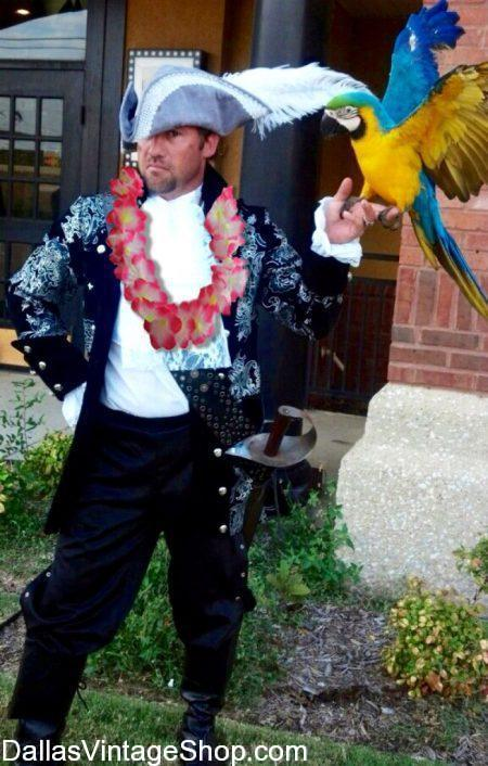DFW Hawaiian Luau Pirate Costumes, Luau Costume Ideas, Men's Luau Attire, Best Luau Theme Party Ideas and Tropical Luau Costumes & Accessories are at Dallas Vintage Shop.