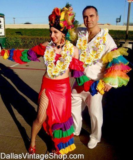 Tropical Luau Attire, Luau Costumes, Luau Ideas, Best Luau Costumes & Luau Accessories from Dallas Vintage Shop.