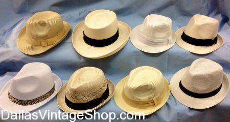 Men's Tropical Hats, Men's Tropical Panama Hats, Men's Tropical Luau Hats, Men's Treopical Vintage Hats, Men's Tropical Fashionable Hats & Men's Tropical Period Hats are at Dallas Vintage Shop.