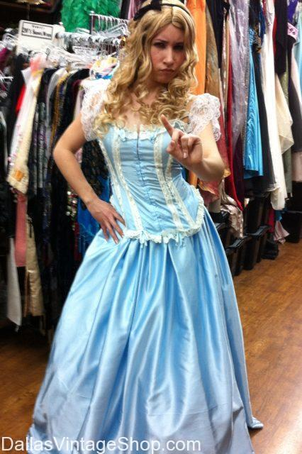 Anime Alice in Wonderland Costume Dress and Wig