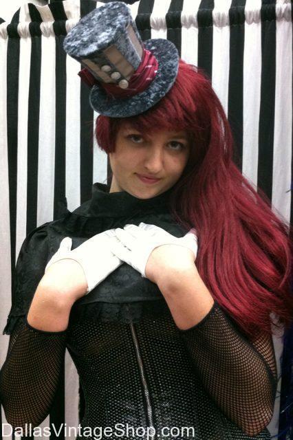 Anime Dallas, A-Kon Anime Costumes Mini Top Hats, A-Kon Anime Convention Dallas 2013, Anime Costumes Dallas, Anime