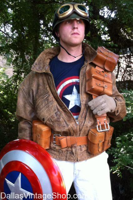 Cosplay Costume Ideas, Original Captain America Costume