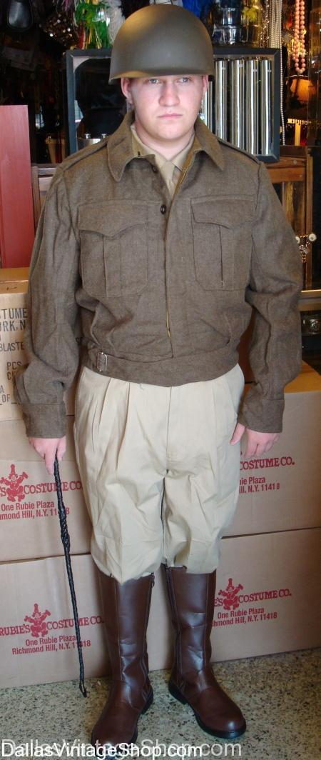 General Patton Costume, Military Costume