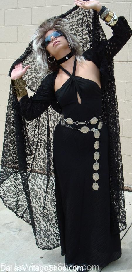Stevie Nicks, Fleetwood Mac, Pop and Rock star, Costume, 80's Pop stars