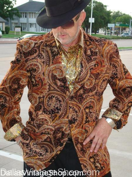 vintage paisley tv game show host coat jacket,