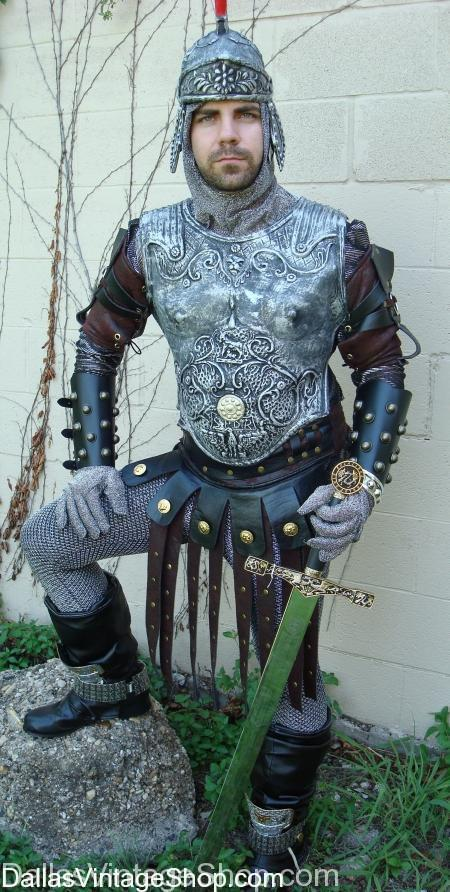 Clive Owen King Arthur Costume, Legendary King Arthur, King Arthur Knights of the Round Table Costume