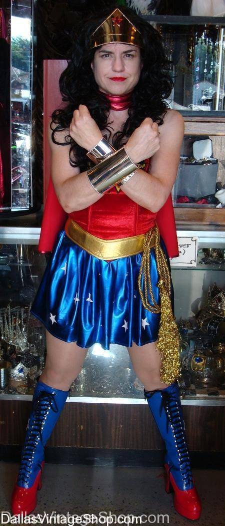 Wonder Woman Costume, Super Hero Costume, Sexy Wonder Woman Costume, Linda Carter Wonder Woman Costume