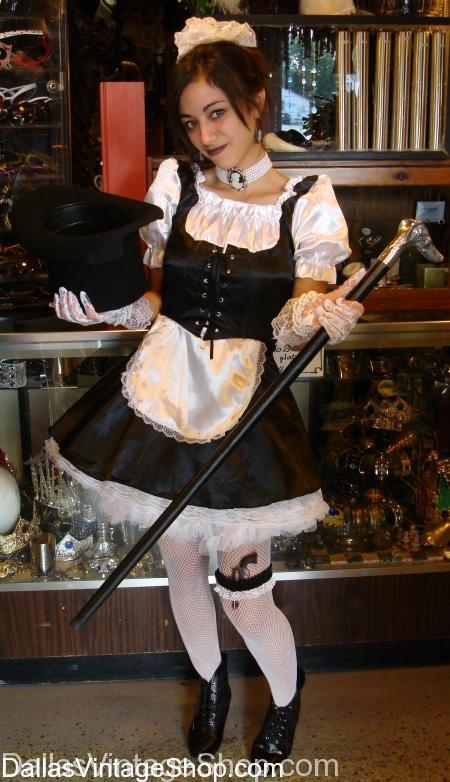 French Maid, French Maid Costume, French Costumes, French Classic Costumes, French Costumes for theater,