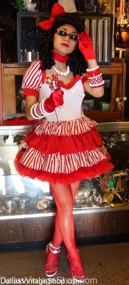 Sexy Candy Striper, Candy Striper Costume
