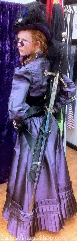 Victorian steampunk lady