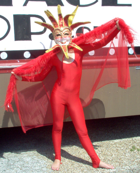 Masquarade She Devil Costume