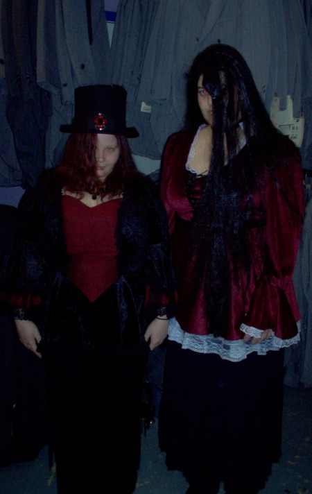goth ball gowns, goth parties in dallas, goth costumes in dallas