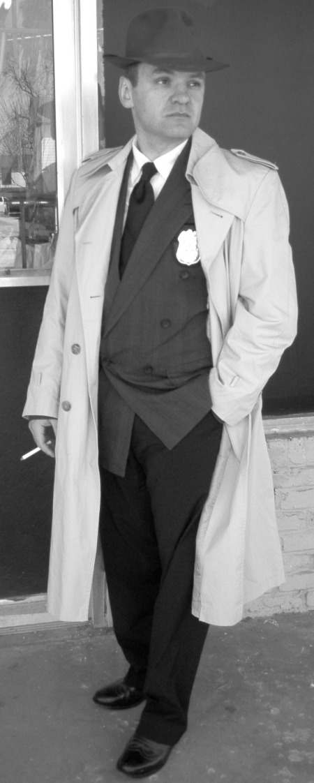 Detective Purvis, Detective Costume, Detective Costume Dallas, Detective Coat, Detective Coat Dallas, Detective Trench Coat, Detective Trench Coat Dallas, Detective Hat, Detective Hat Dallas, Noir Detective, Noir Detective Dallas, Noir Detective Outfit, Noir Detective Outfit Dallas,