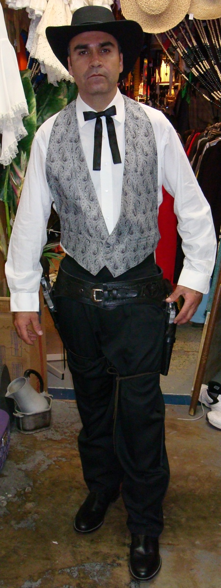 Olde West Preppy Gun Slinger Costume, Old West, Old West Dallas, Old West Costumes, Old West Costumes Dallas, Old West Sheriff, Old West Sheriff Dallas, Old West Sheriff Costume, Old West Sheriff Costume Dallas, Old West Steampunk Sheriff, Old West Steampunk Sheriff Dallas, Old West Outlaw, Old West Outlaw Dallas, Old West Outlaw Costume, Old West Outlaw Costume Dallas, Old West Gun Slinger, Old West Gun Slinger Dallas,