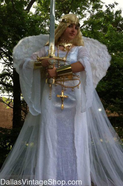 Medieval Crusading Angel, Angel Costumes, Regal Angelic Costume, Biblical Angel Costume, Holy Angel Costume, Angel Costumes Dallas, Angel Outfits, Angel Outfits Dallas, Biblical Angel Costume Dallas, Holy Angel Costume Dallas, Medieval Crusading Angle Costume Dallas, Regal Angelic Costume Dallas,