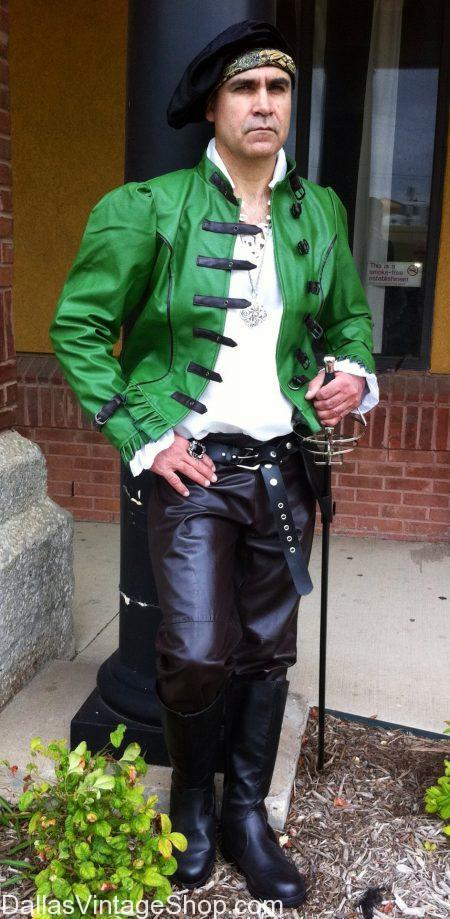 Mens Italian Renaissance leather garb Dallas, Dallas Ren Fest Mens ...