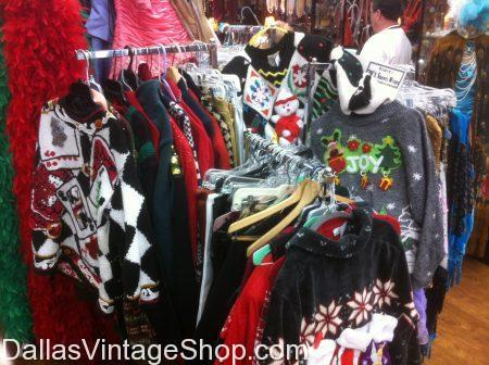 Christmas Sweaters | Dallas Vintage and Costume Shop