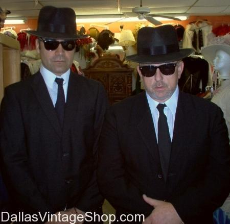 1980's Blues Brothers Costumes