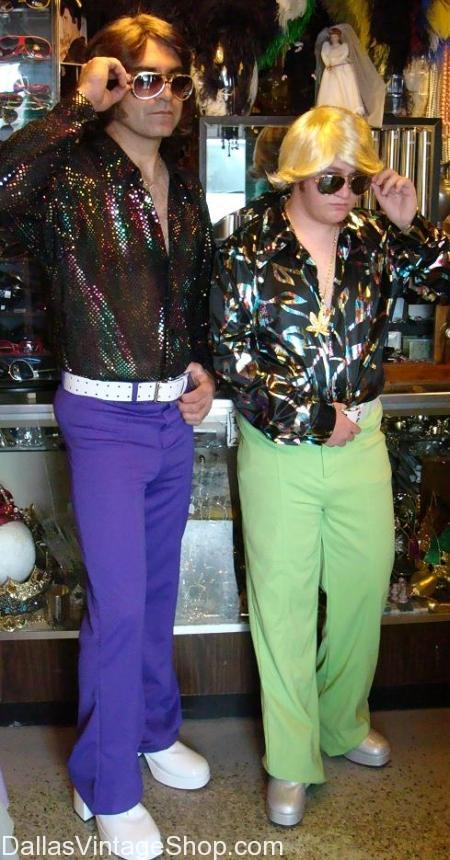 What should you wear to a 1970s disco-themed party?