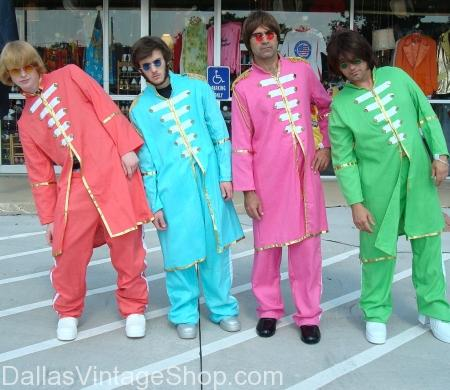 The Beatles Sgt. Peppers Costumes