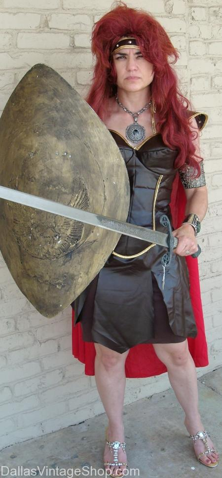 Woman Gladiatorn costume