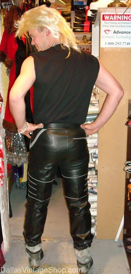 1980's Pleather Michael Jackson Disco Pants