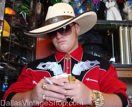 Casino poker player costume, rich texas poker player costume