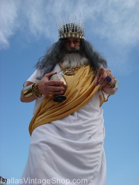 Greek Toga, Zeus, God of Thunder