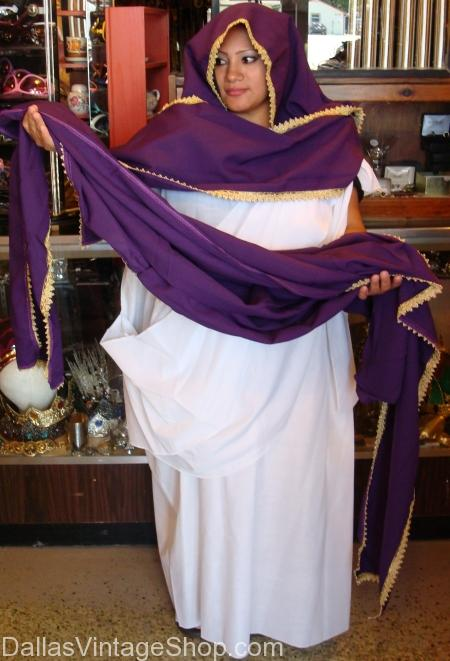 Plus Size Biblical Costume, Lydia Lady Who Sells Purple