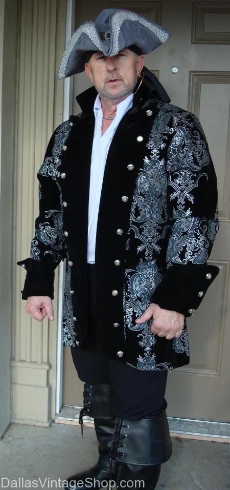 Baroque Pirate Jacket Costume