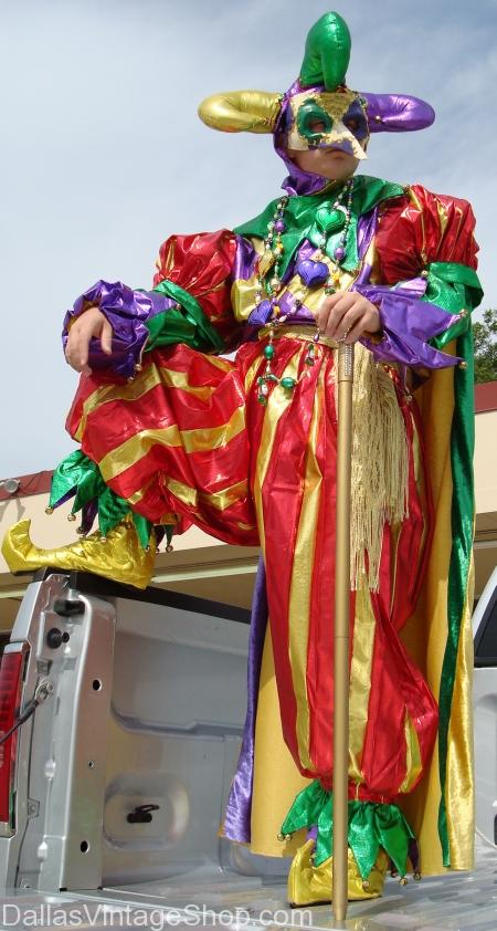Masquerade Jester's Costume