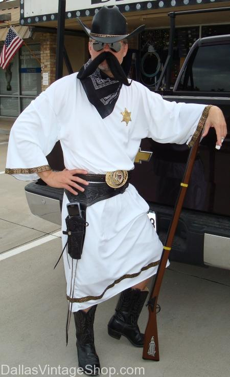 Texas Rich Toga Party Cowboy Costume