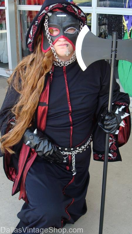 Get Adult or Child Executioner Costumes, Goth Executioner Costume, Medieval Executioner Outfits, Renaissance Executioner Costumes, Executioner Costumes Weapons, Executioner Costumes Wigs, Executioner Executioner Costume Masks, Executioner Gloves. We have Executioner Medieval Swords, Executioner Belts, Executioner Medieval Axes in Dallas