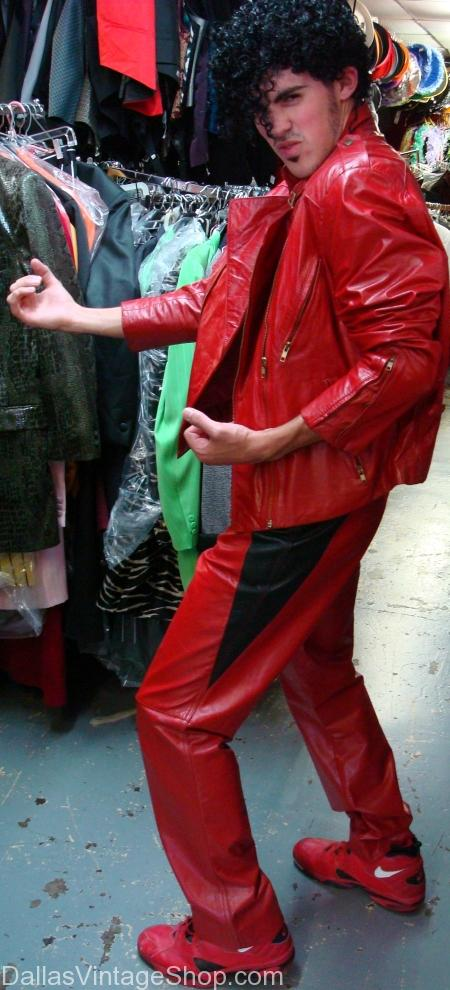 Leather Michael Jackson Bad Costume