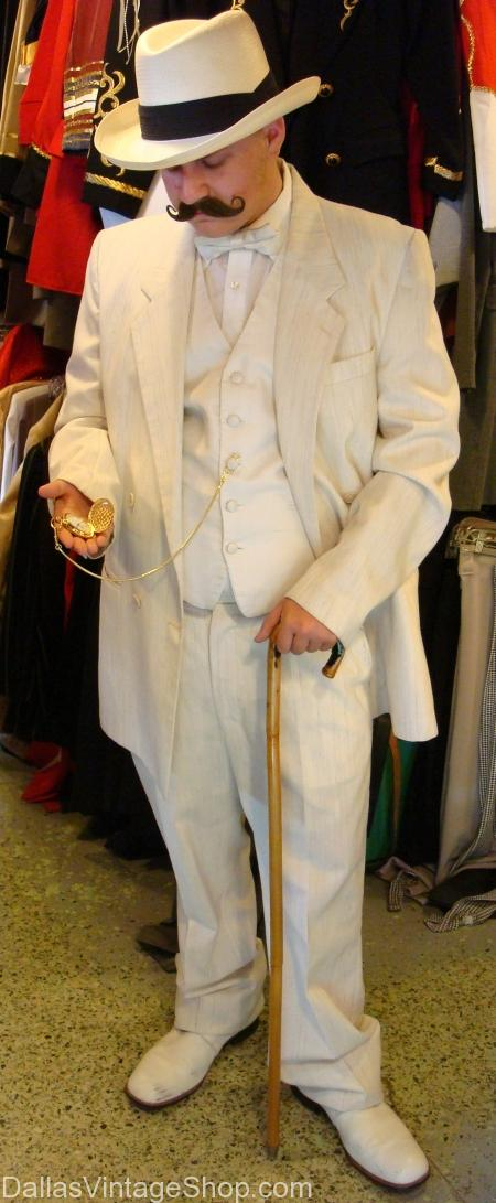 Dickens on The Strand Gentlemen's Costume