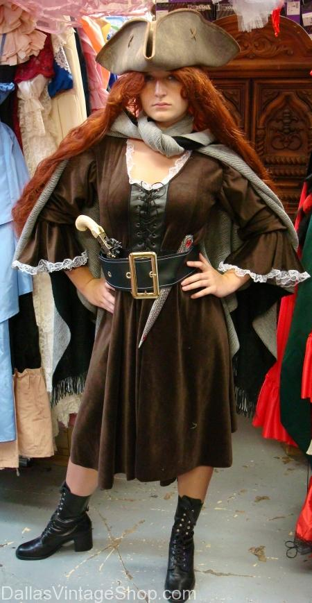 Grace O'Malley Pirate Lady Costume