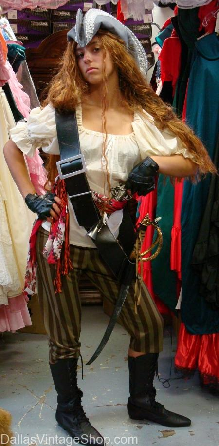 Mary Read Lady Pirate Costume