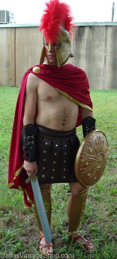 Greek Spartan Warrior Costume