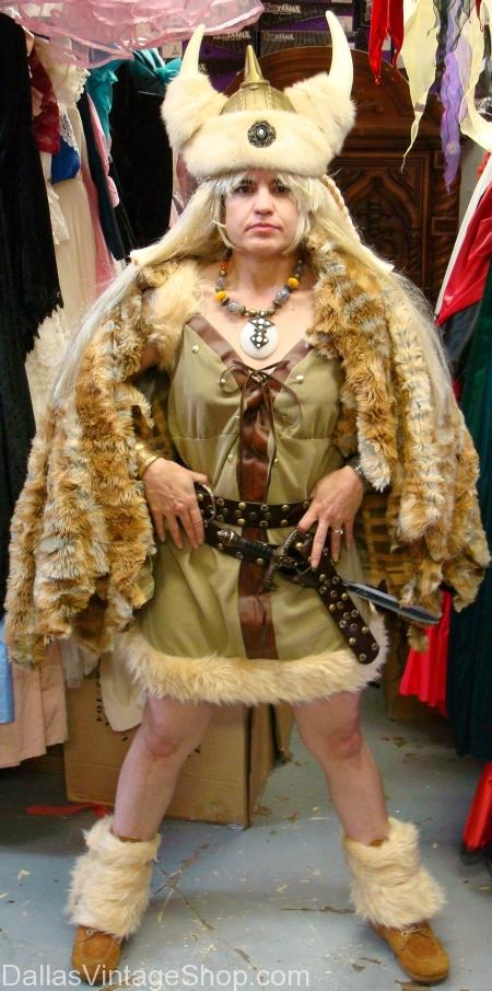 Viking Woman Helga, Hagar The Horrible's Wife Costume