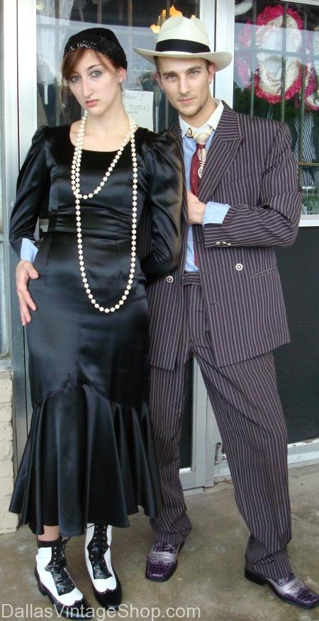 1930's Bonnie and Clyde Costumes