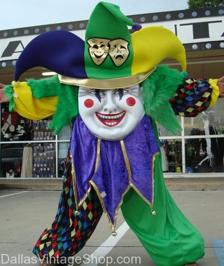 Mardi Gras mascot Costume