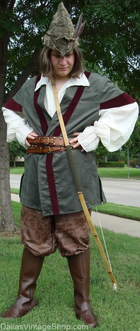Robin Hood Scarborough Fair Costume