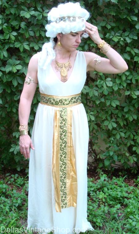 Helen of Troy Toga Party Costume